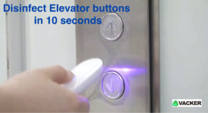 Disinfect-elevator-buttons-in-10-seconds-with-UV-light