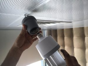 Fixing-method-of-UVC-ceiling-Disinfection-Lamp