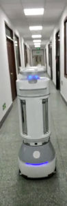 UVD-Automatic-Disinfection-Robot-with-Hydrogen-Peroxide-Sprinkler